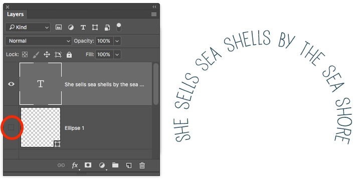 How To Draw Text On A Path In Photoshop - Photoshop Bootcamp
