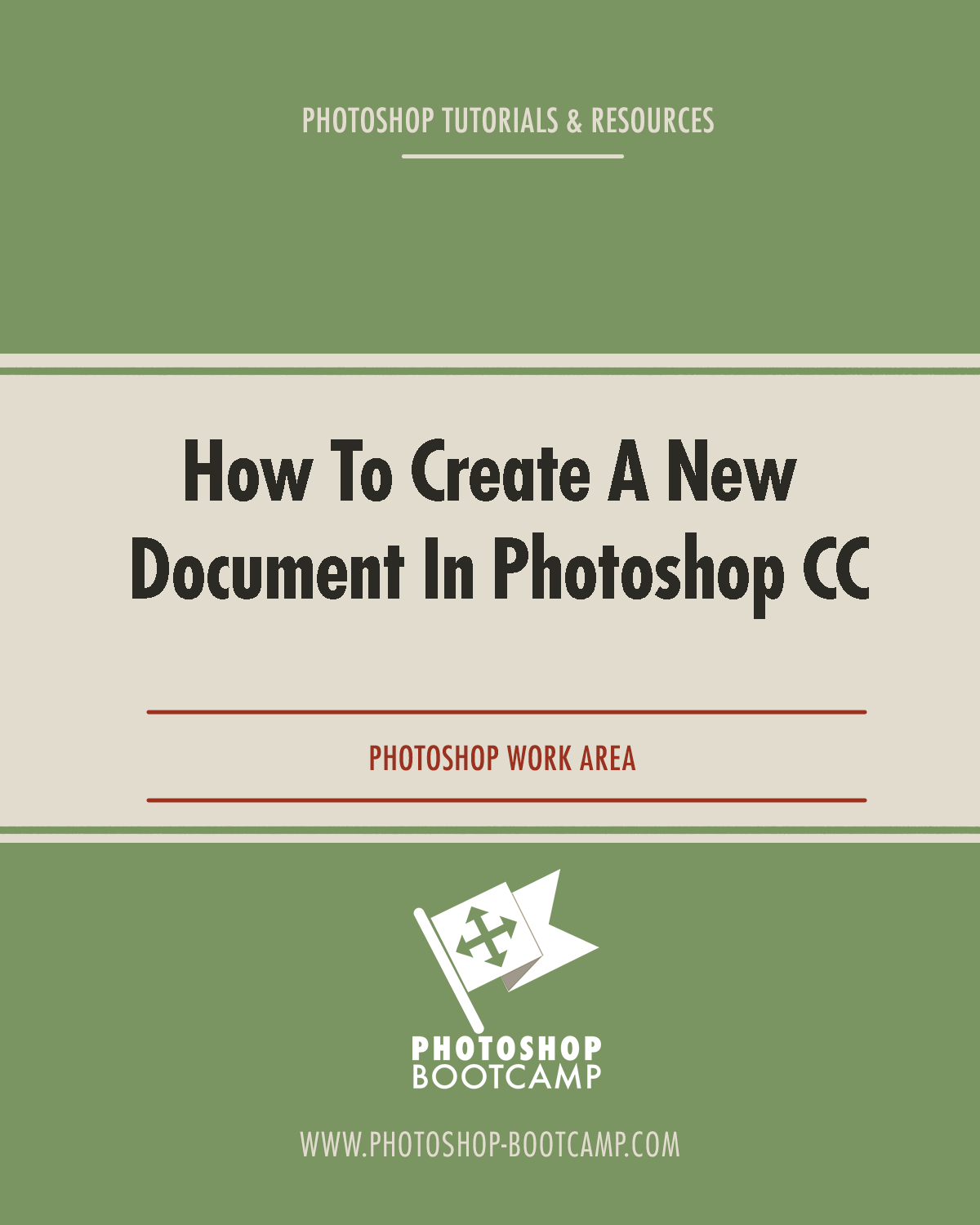 How To Create a New Document In Photoshop CC
