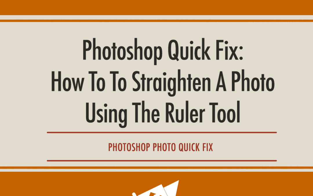 how to fix a crooked smile in photoshop