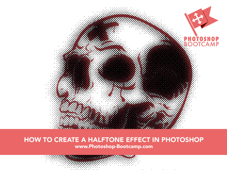 How To Create A Dirty Halftone Effect In Photoshop - Photoshop Bootcamp