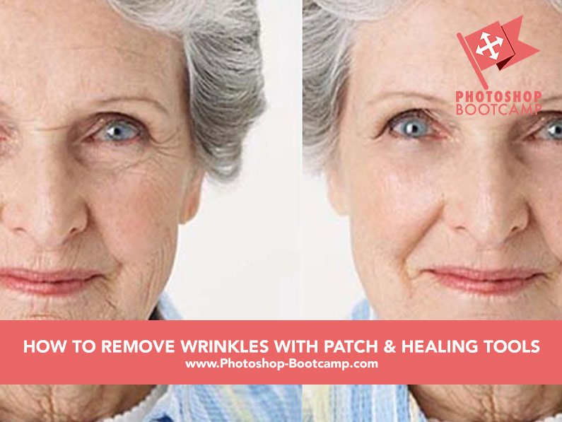 How To Remove Wrinkles With The Healing Brush and Patch Tool in