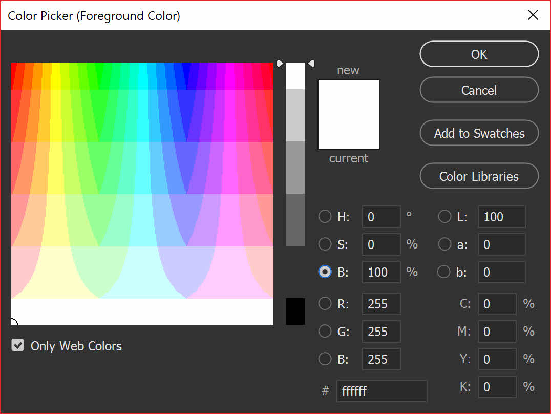 Photoshop Tip: My Photoshop Color Picker Looks Strange, How