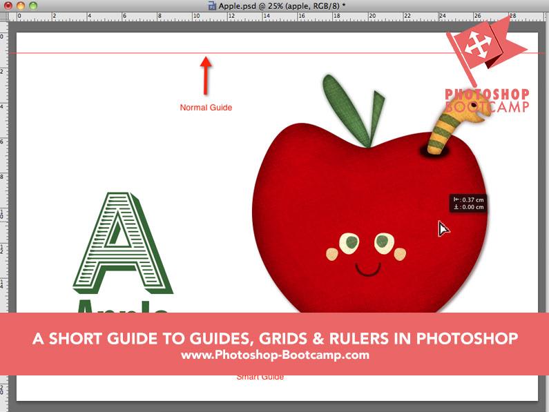 A Short Guide to Guides, Grids and Rulers in Photoshop