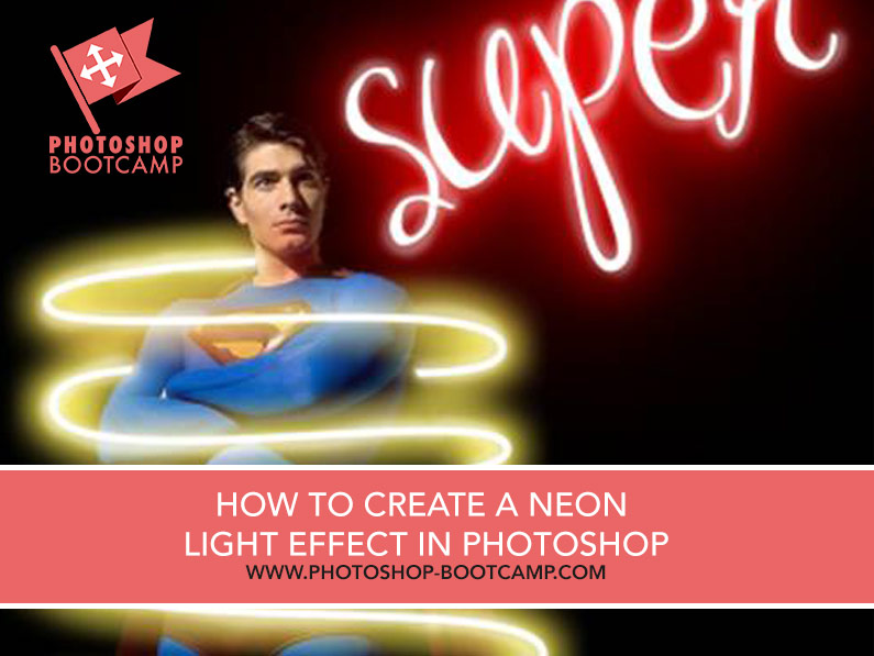 How To Make A Neon Light Effect In Photoshop - Photoshop